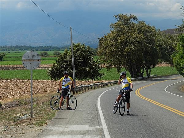 Cycling holiday in Colombia