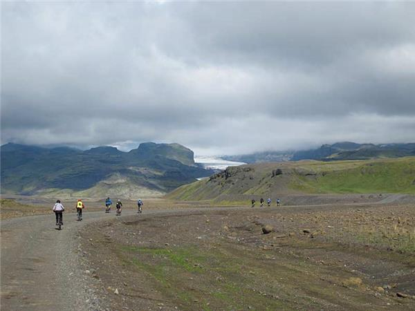 Iceland cycling holiday