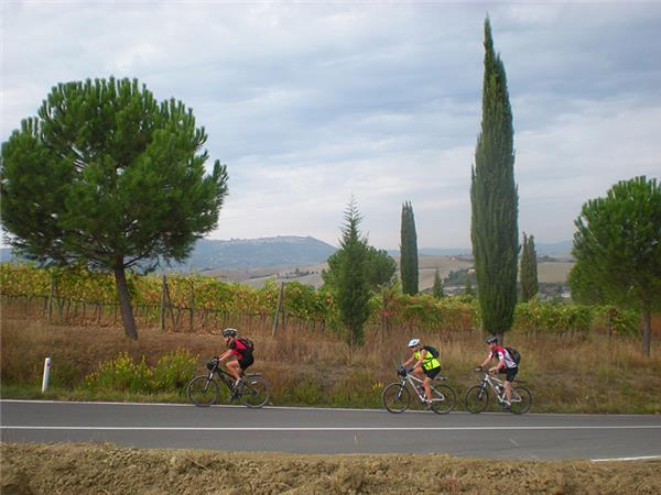 Tuscany cycling holiday through Siena & Chianti, Italy