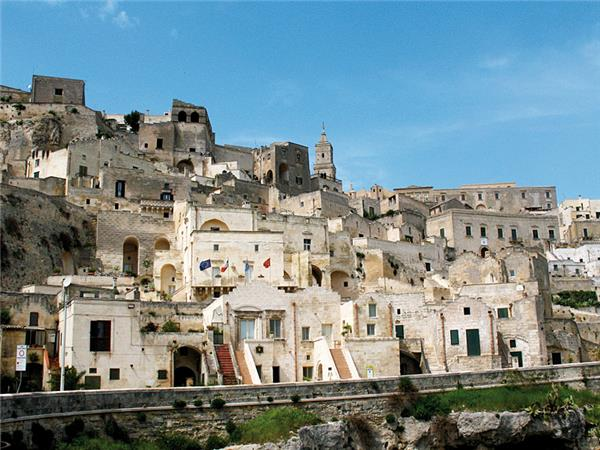 Matera to Puglia cycle in Italy