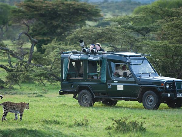 Masai Mara photographic safari in Kenya