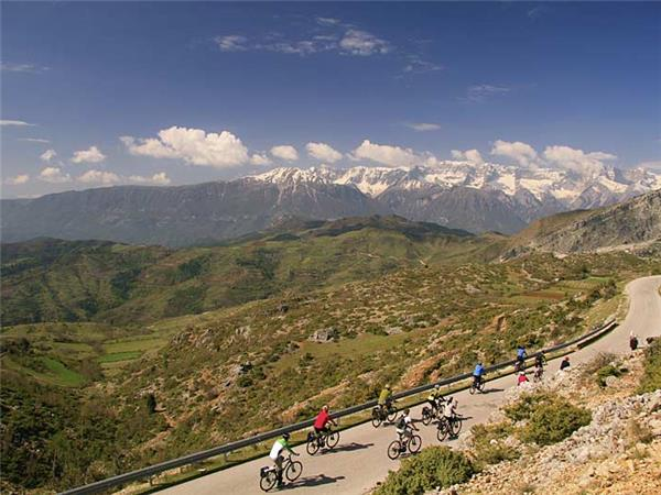 Albania cycling holiday