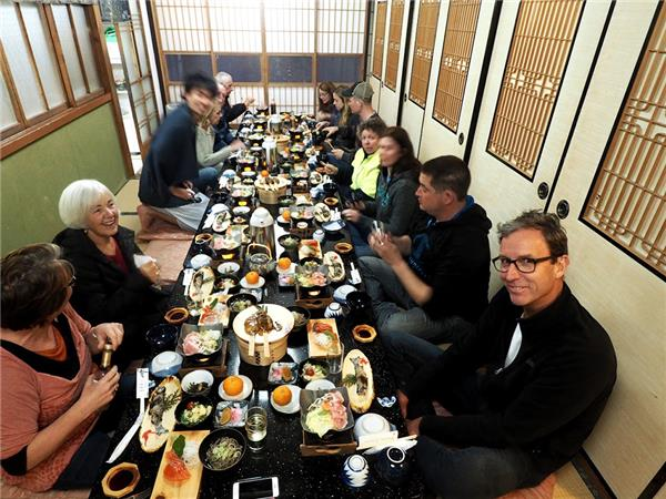 Japan group holiday, a food adventure