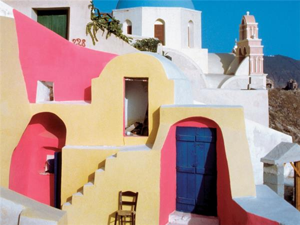 Greek Islands sailing holiday, Santorini to Mykonos