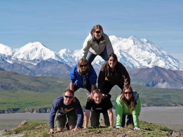 Alaska small group camping tour