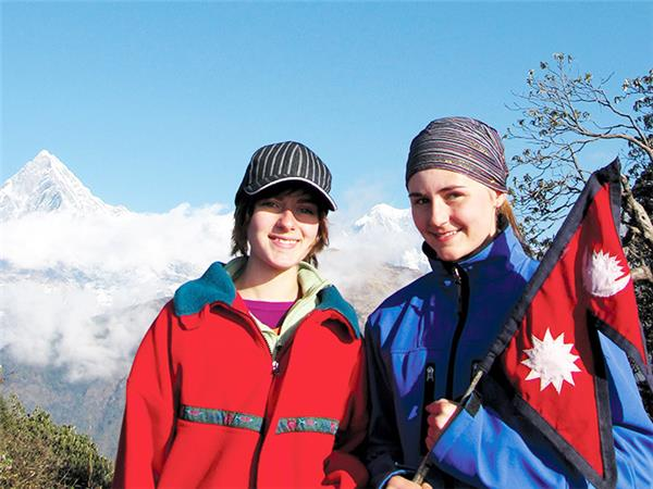 Family adventure holiday in Nepal