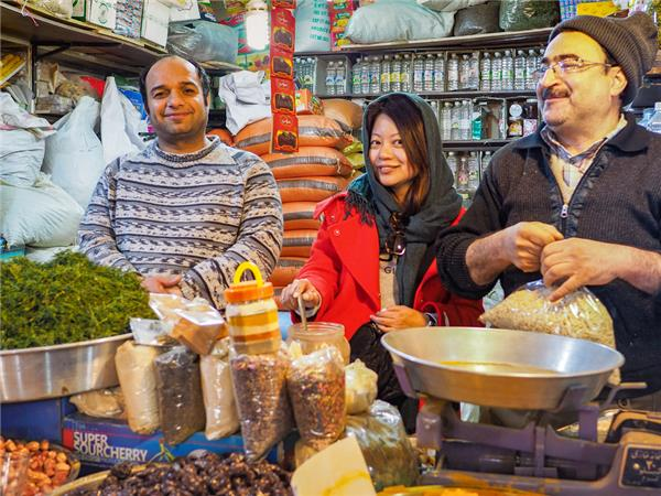 Iran food adventure tour