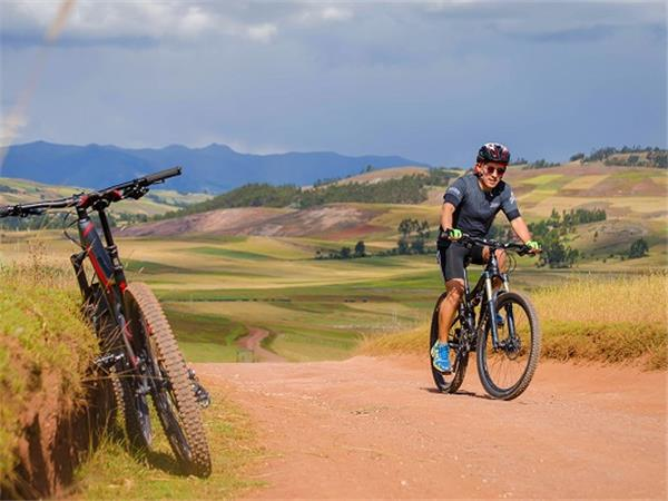 Small group cycling holiday in Peru