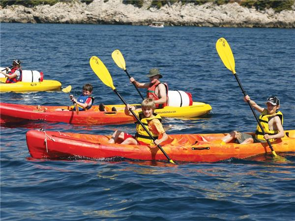 Family multi-activity holiday in Croatia