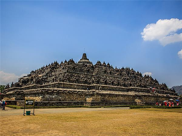 Indonesia holiday, Volcanoes and temples