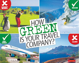Green travel audit