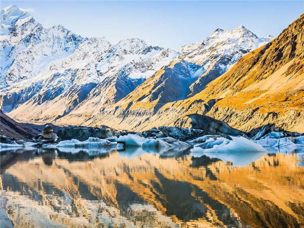 New Zealand walking holiday, small group