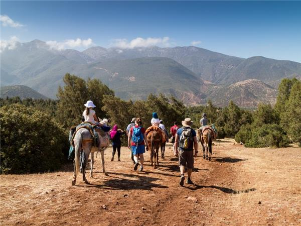 Family adventure holiday in Morocco