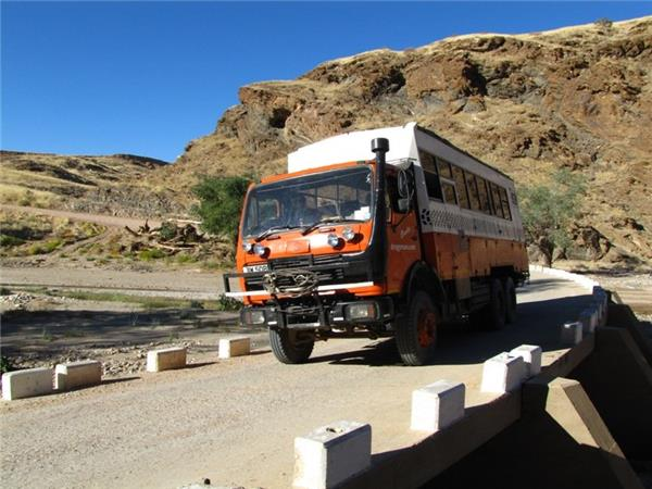 Africa overland expedition, Accra to Capetown