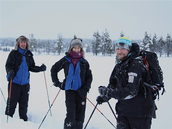 Finland winter activity holiday & Northern Lights