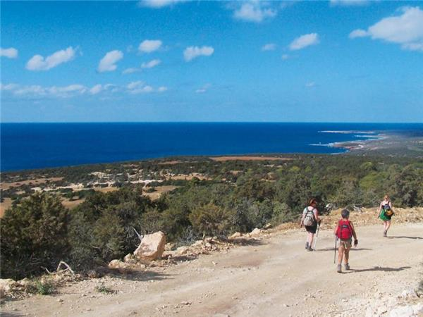 Walking holiday in Cyprus