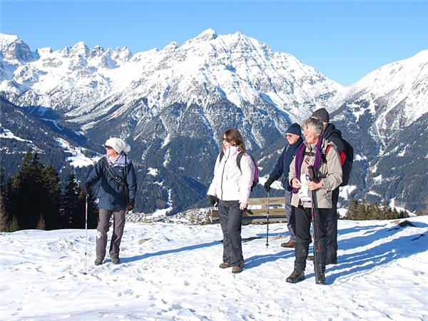 Winter walking holiday in Austria