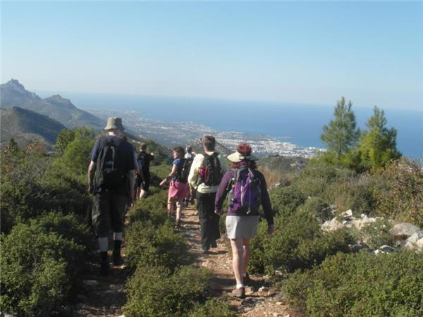 Northern Cyprus walking holiday