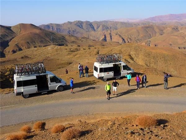 Cycling holiday in Morocco