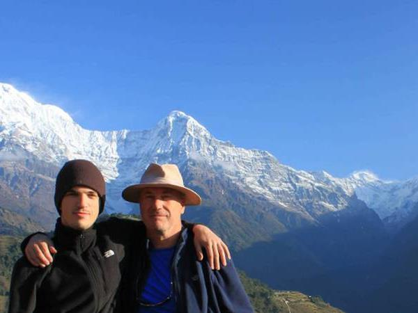 Nepal family holiday, walking in the Annapurnas