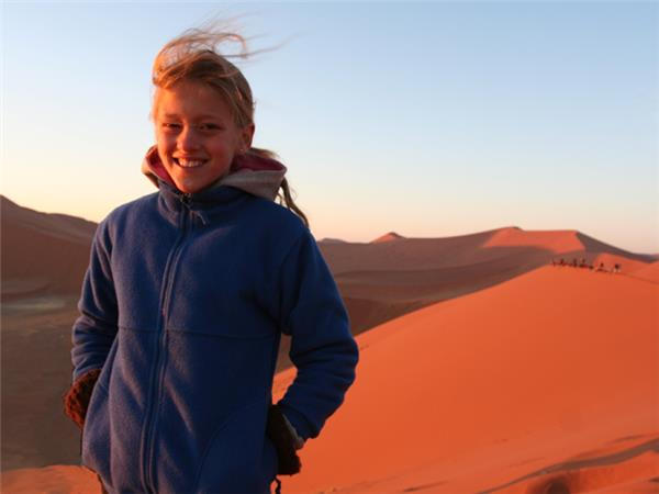 Family safari in Namibia