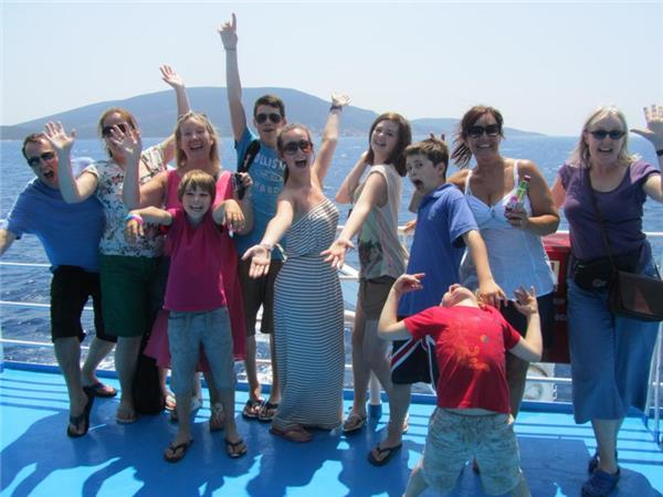 Family sailing holiday in the Cyclades, Greece