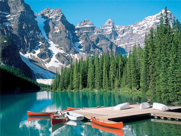 Canadian Rockies activity holiday