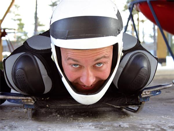 Lillehammer bobsled weekend in Norway