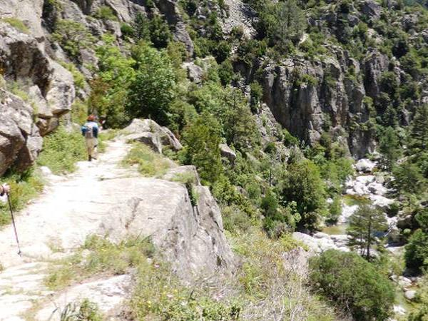 Grand Randonnee walking holiday in Corsica, France