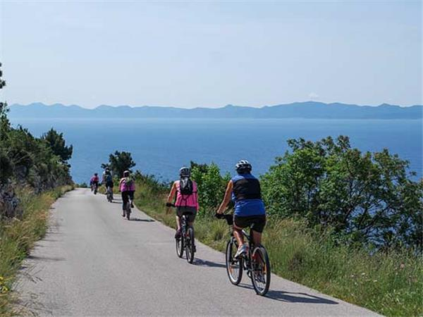 Cycling holiday in Croatia, Dalmatian Coast