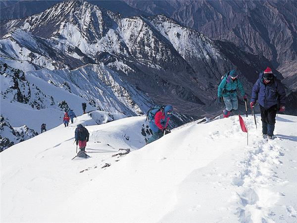 Stok Kangri climb in Ladakh, India
