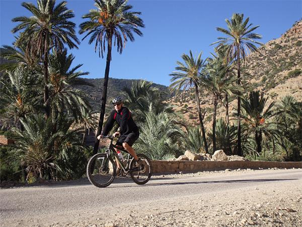 Morocco cycling holiday