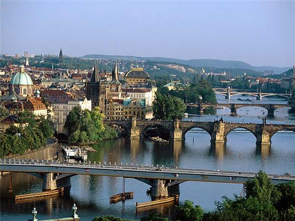 Prague to Budapest cycling holiday