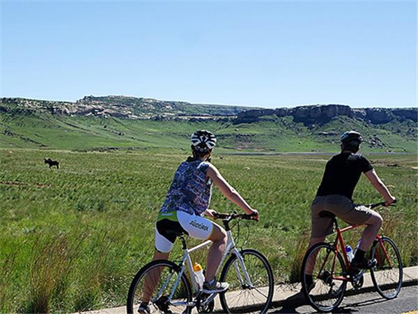 South Africa cycling holiday, Drakensberg and Kruger