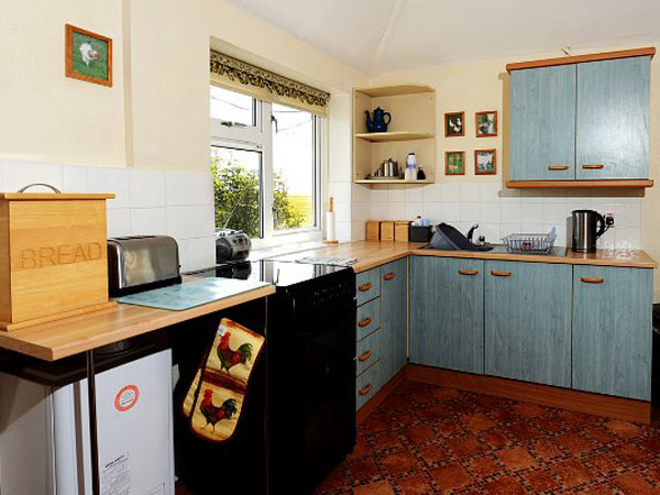 South Downs holiday bungalows, England