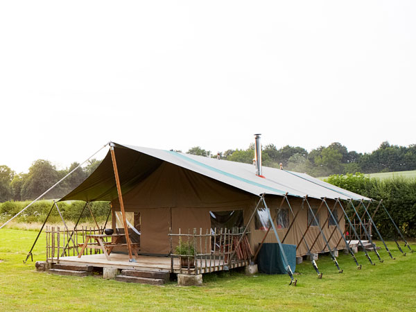 Glamping holidays in the South Downs, England