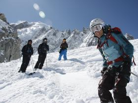 Learn French and ski the French Alps