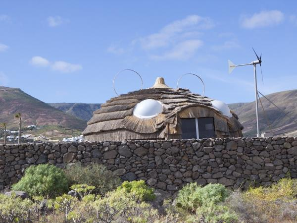 Lanzarote yurt accommodation, Canary Islands
