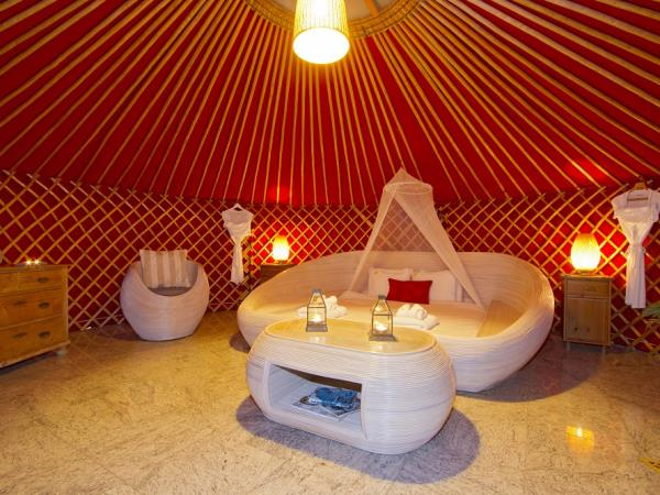 Yurt holiday accommodation in Lanzarote, Canary Islands