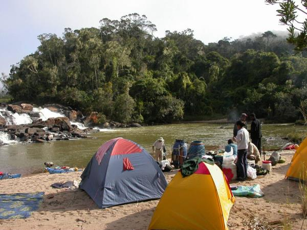 Madagascar family adventure holiday, canoes & camping