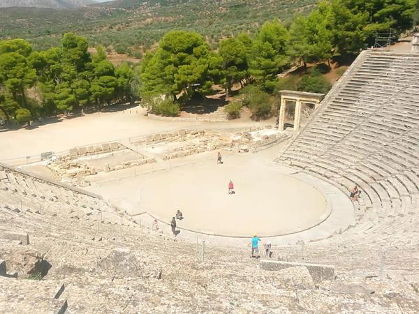 Greece archaeology and activity holiday