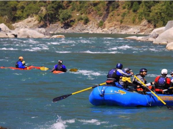 Brahmaputra rafting holiday in India