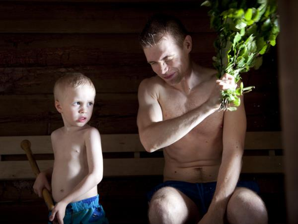Family summer holiday in Finland
