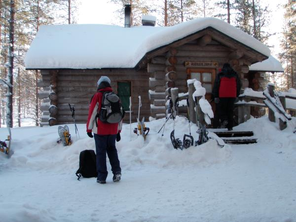 Snowshoeing holiday in Finland