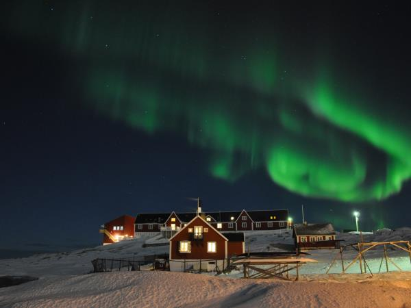Greenland northern lights adventure holiday