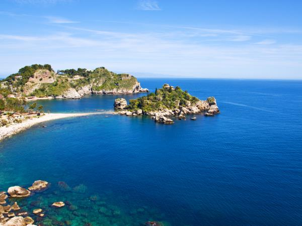 Family activity holiday to Sicily, Etna to Isola Bella