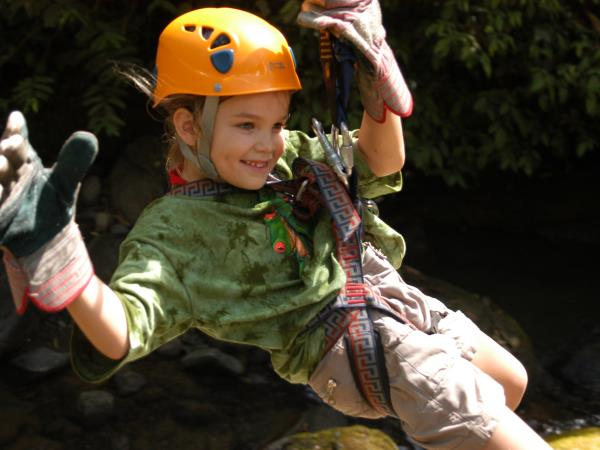 Costa Rica family activity holiday