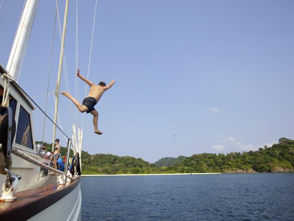 Cruising holiday in Burma, the Mergui Archipelago