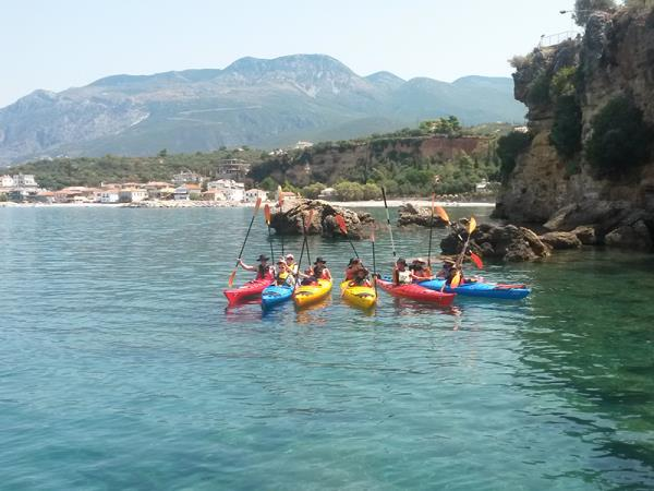 Multi activity holiday in Greece