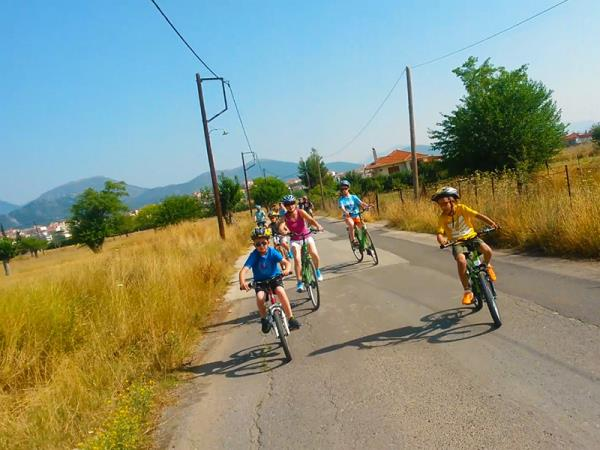 Peloponnese family activity holiday in Greece